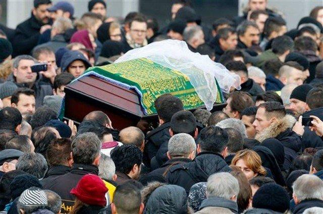 Tugce Albayrak funeral