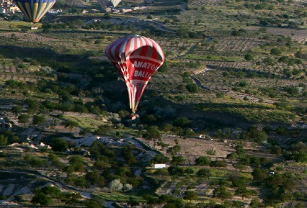 Turkey hot air balloon crash
