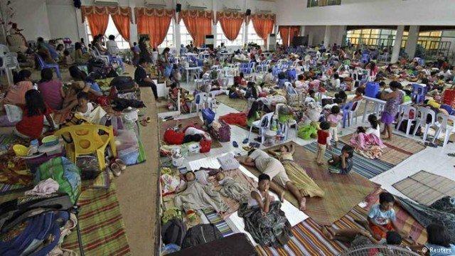 Typhoon Hagupit Philippines evacuations