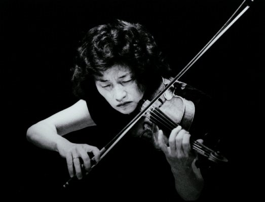 Violinist Kyung-Wha Chung