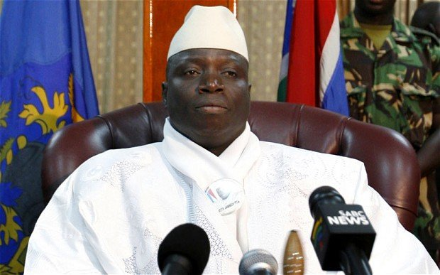 Yahya Jammeh returns to Gambia after coup plot