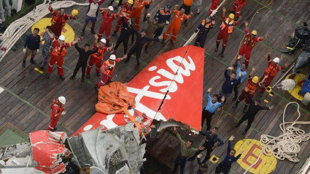 AirAsia black boxes found