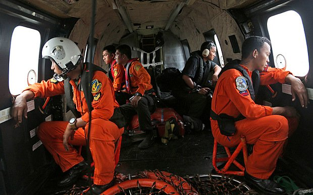 AirAsia flight QZ8501 search