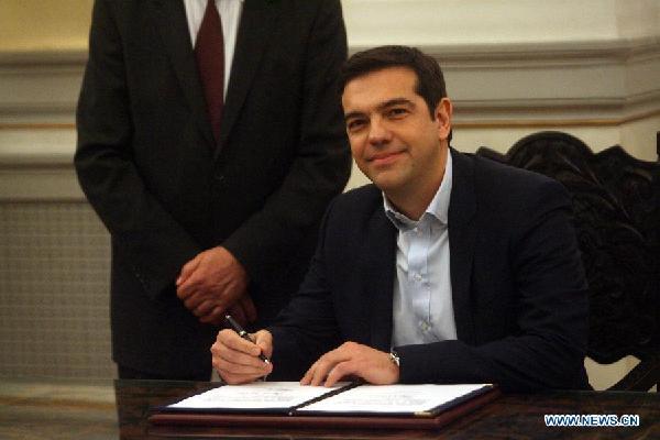 Alexis Tsipras prime minister