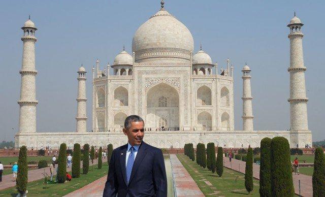 Barack Obama cancels Taj Mahal visit