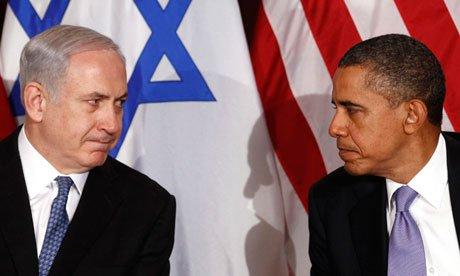Netanyahu obama israel