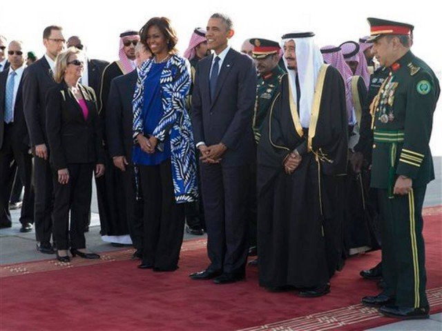 Barack Obama in Saudi Arabia