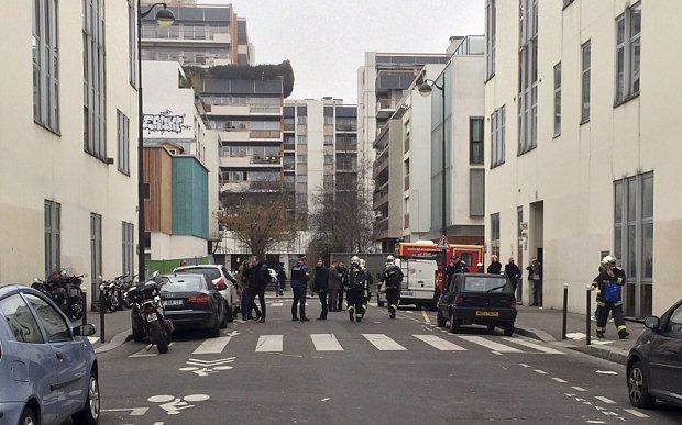 Charlie Hebdo attack January 2015