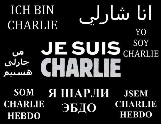 Charlie Hebdo attack Je suis Charlie