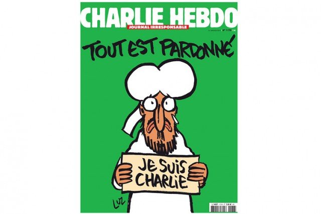 Charlie Hebdo post attack issue