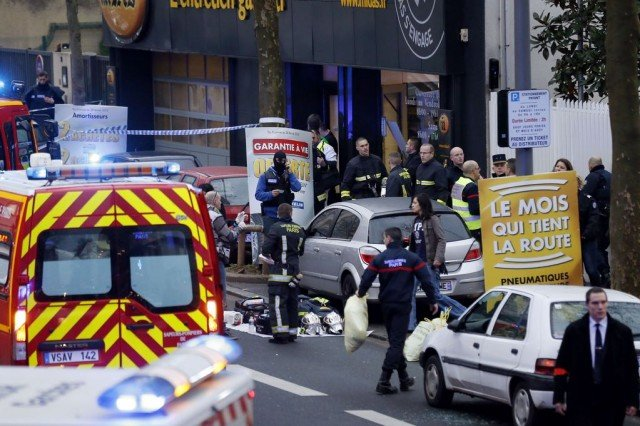 Chatillon shooting, second Paris shooting