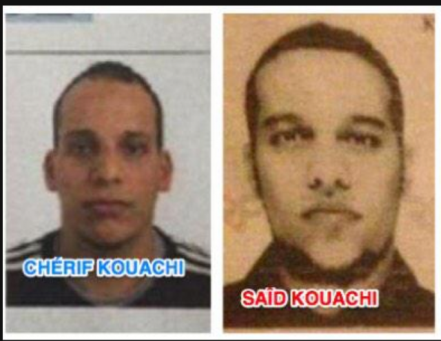 Cherif Kouachi and Said Kouachi