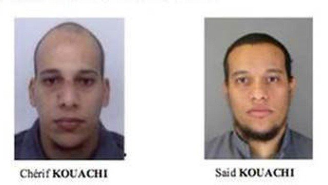 Cherif and Said Kouachi, Charlie Hebdo attack suspects