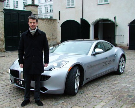 Crown Prince Frederik of Denmark Storbelt Bridge