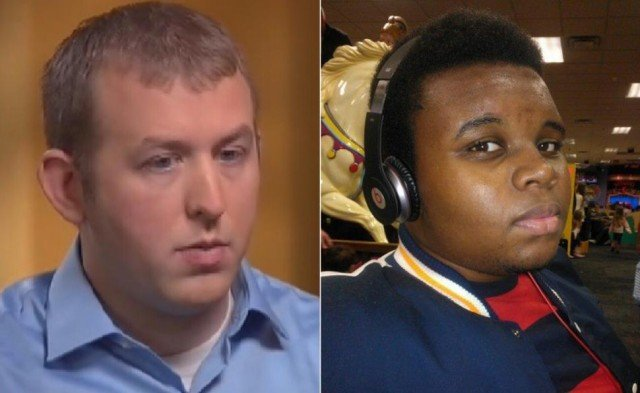 Darren Wilson and Michael Brown