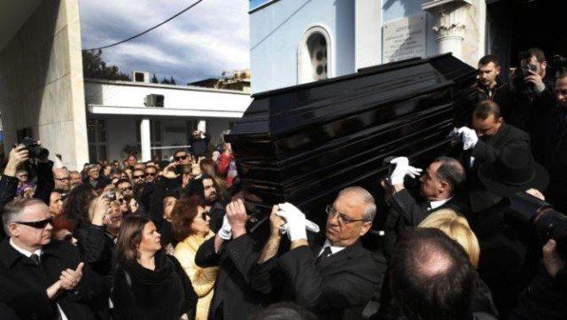 Demis Roussos funeral Athens