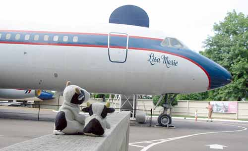 Elvis Presley's private jet Lisa Marie