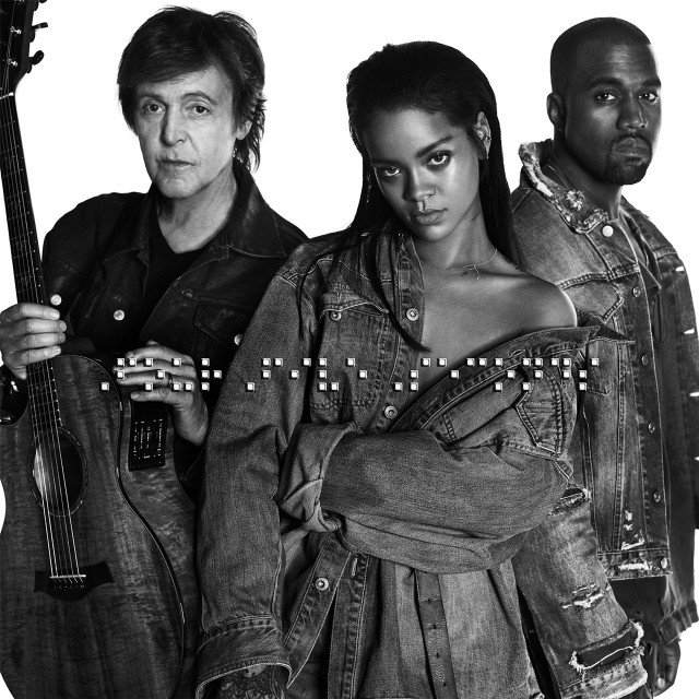 Four Five Seconds Rihanna, Kanye West, Paul McCartney