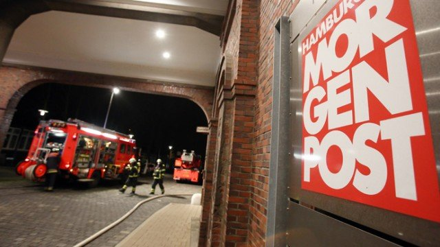 Hamburger Morgenpost arson attack