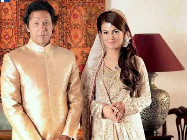 Imran and Reham Khan wedding