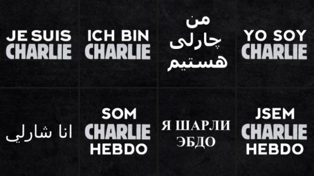 Je suis Charlie Islamist attack on Charlie Hebdo