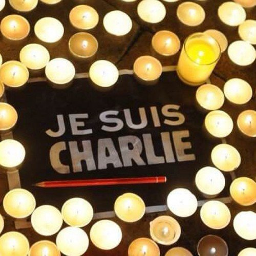 Je suis Charlie author is Joachim Roncin