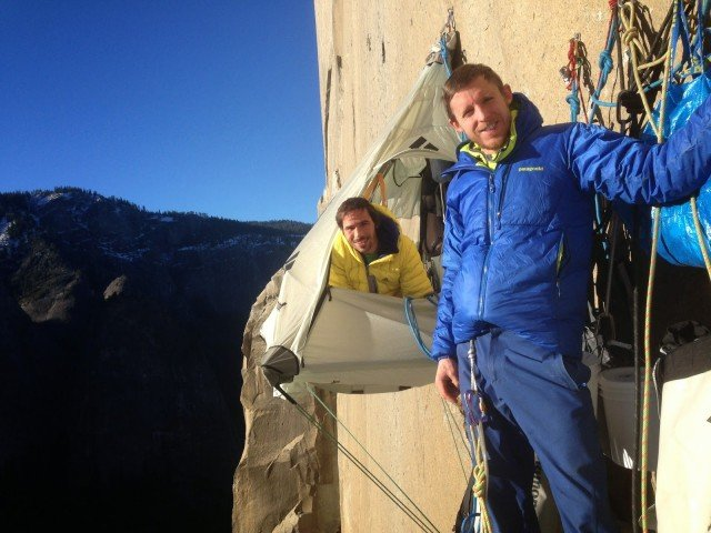 Kevin Jorgeson and Tommy Caldwell talk about Dawn Wall climbing