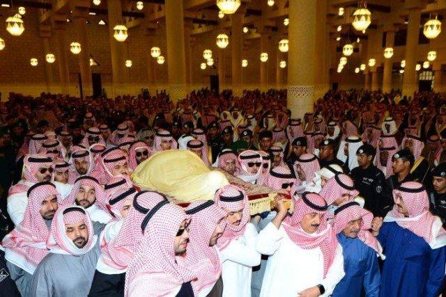 King Abdullah funeral in Saudi Arabia
