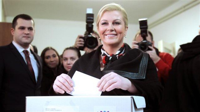 Kolinda Grabar-Kitarovic becomes Croatia's first female president
