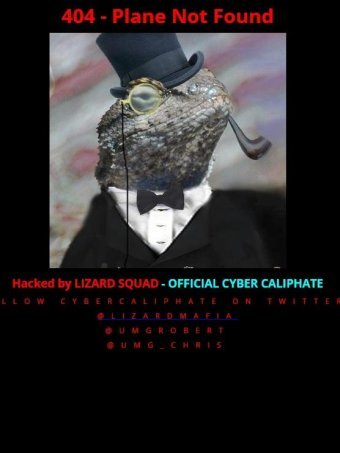 Malaysia Airlines website hacked by Lizard Squad