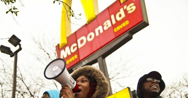 McDonald's sued for racial discrimination
