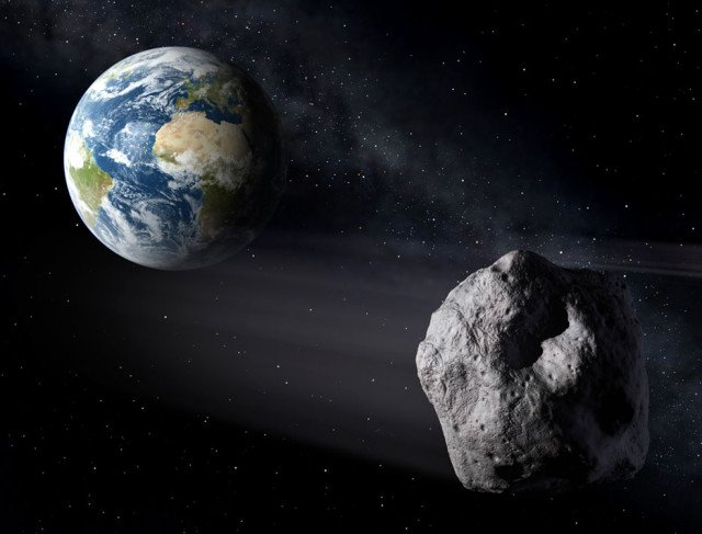Mountain-size asteroid 2004 BL86 will pass in the vicinity of Earth on January 26, 2015