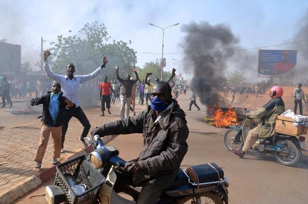 Niger Charlie Hebdo protests