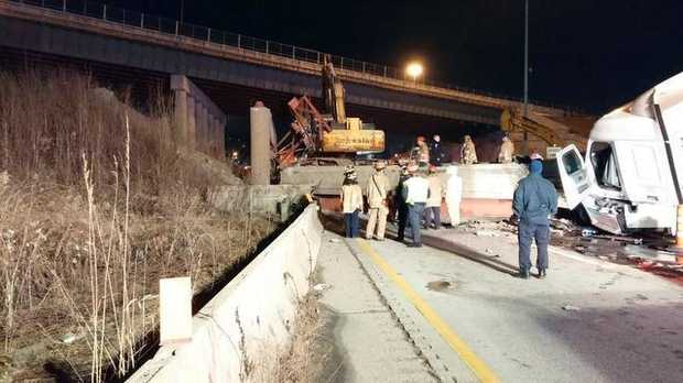 Ohio overpass collapse