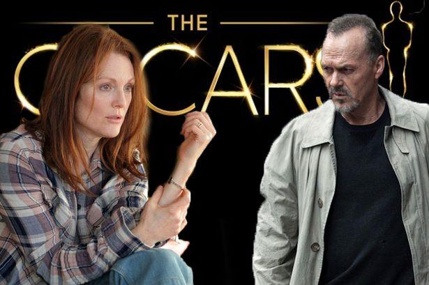 Oscar nominations 2015 row