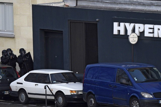 Paris Hyper Cacher hostages