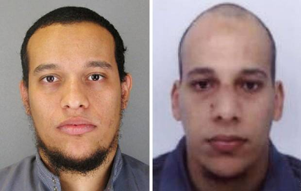 Paris suspects Said and Cherif Kouachi killed