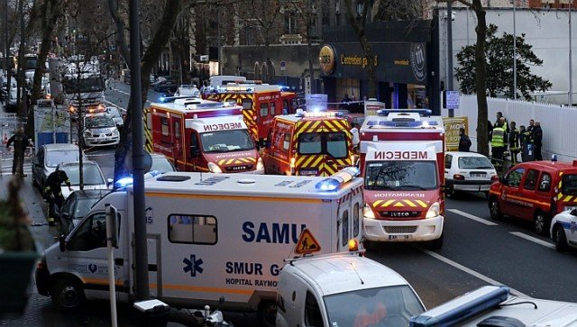 Policewoman killed in Montrouge after Charlie Hebdo attack