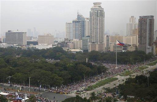 Pope Francis Manila Mass
