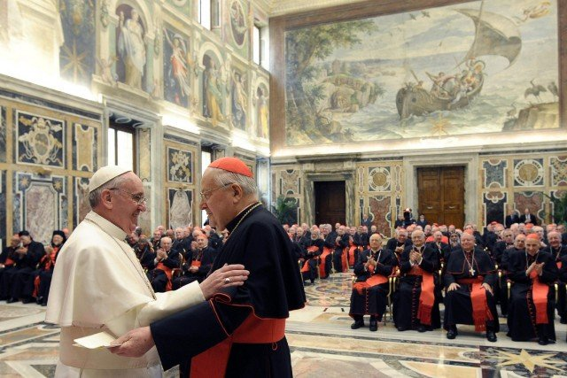 Pope Francis names new cardinals