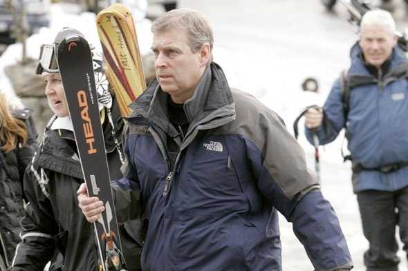 Prince Andrew buys Swiss chalet in Verbier