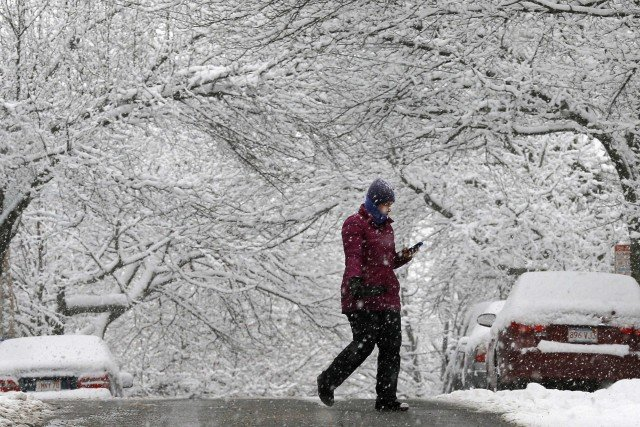 Snowstorm emergency 2015