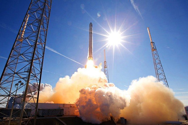 SpaceX Falcon 9 launch aborted