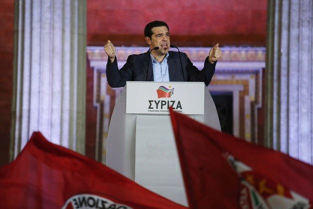 Syriza victory hits euro