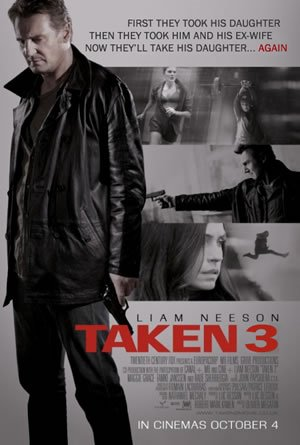 Taken 3 tops US box office