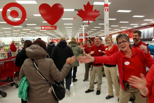 Target Canada closes all stores