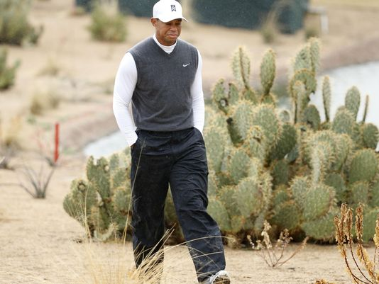 Tiger Woods Phoenix Open 2015 second round