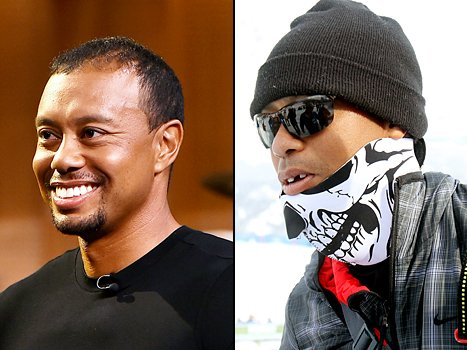 Tiger Woods lost front tooth