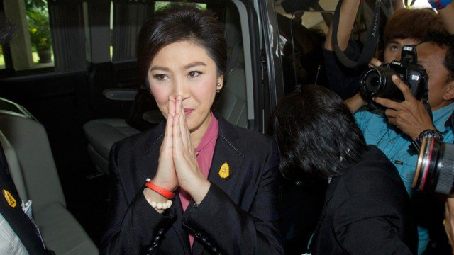 Yingluck Shinawatra impeachment hearing