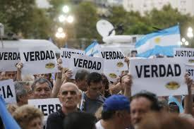 Alberto Nisman rally Buenos Aires